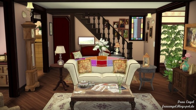 Sims 4 Charmed Halliwell Manor at Frau Engel