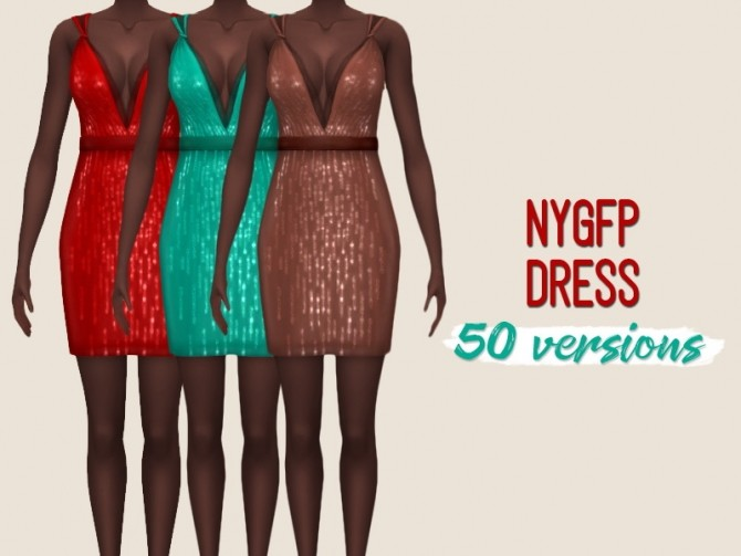 NYGFP dress at Midnightskysims image 7612 670x503 Sims 4 Updates