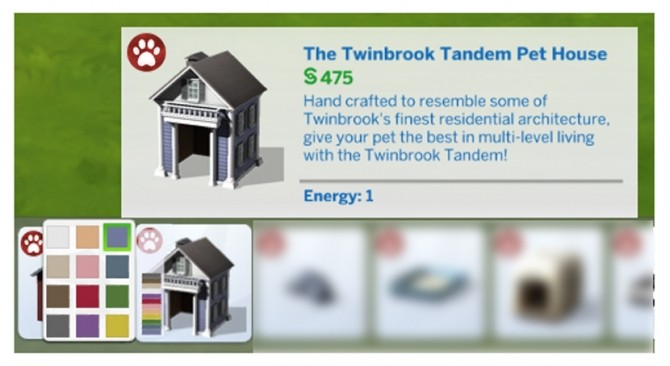 The Twinbrook Tandem Pet House by Menaceman44 at Mod The Sims image 764 670x366 Sims 4 Updates