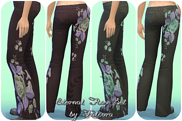 EternalRose Set 8x Pants at Petka Falcora image 7712 Sims 4 Updates