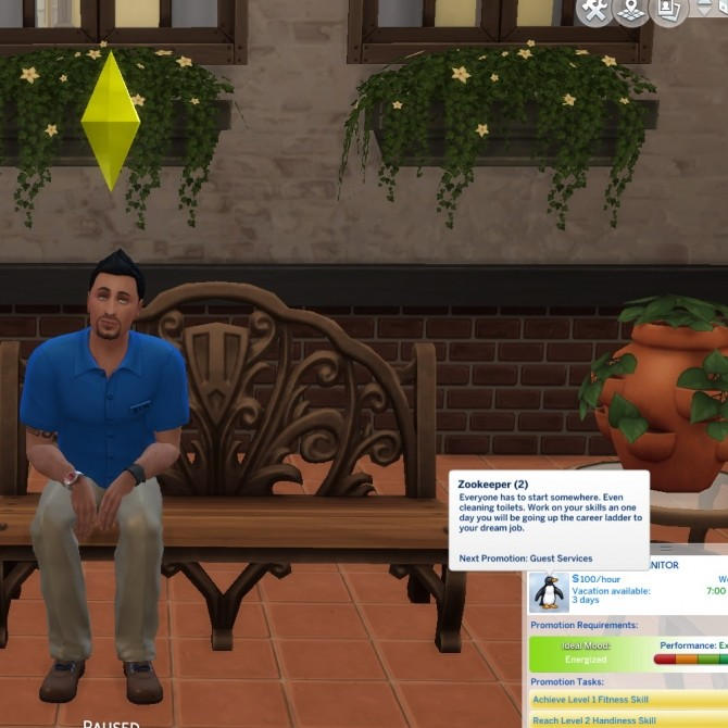 Sims 4 Zookeeper Career by Piscean6 at Mod The Sims
