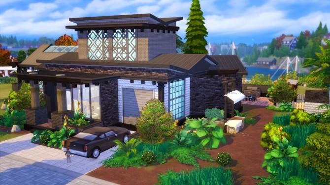 Sims 4 Modern House at Akai Sims – kaibellvert