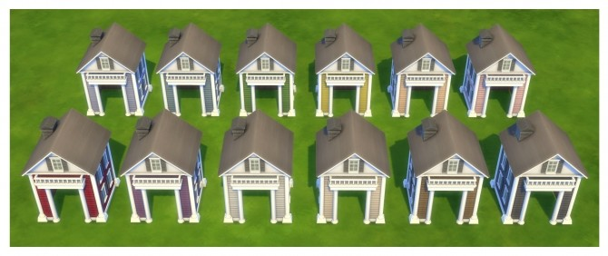 The Twinbrook Tandem Pet House by Menaceman44 at Mod The Sims image 774 670x282 Sims 4 Updates