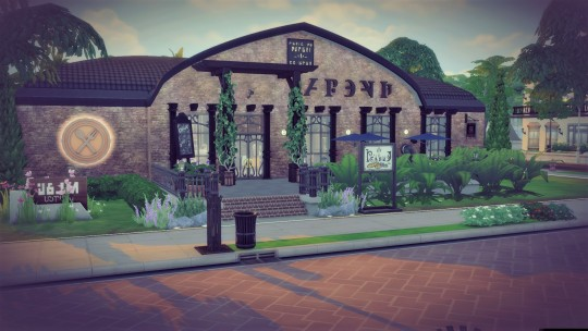 Industrial manufactory at Agathea k image 777 Sims 4 Updates