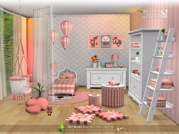 Delicata toddlers room by SIMcredible at TSR image 7917 Sims 4 Updates