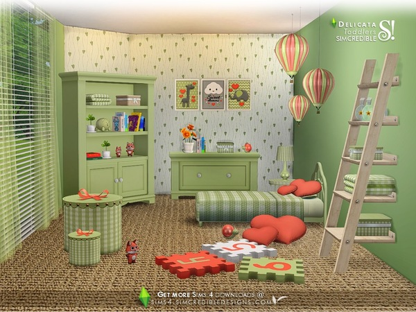 Delicata toddlers room by SIMcredible at TSR image 8017 Sims 4 Updates