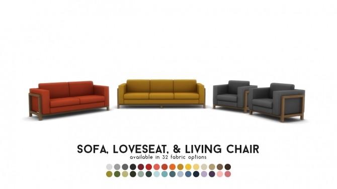 Vara Lounge Exposed Frame Seating at Simsational Designs image 803 670x377 Sims 4 Updates