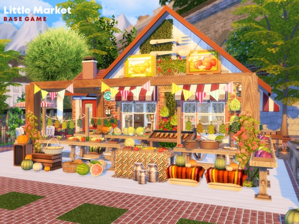 Little Market by Pralinesims at TSR image 810 Sims 4 Updates