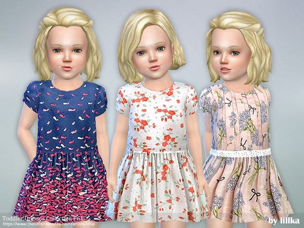 Toddler Dresses Collection P61 by lillka at TSR image 8100 Sims 4 Updates
