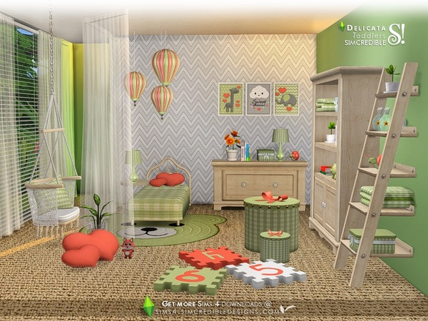 Delicata toddlers room by SIMcredible at TSR image 8122 Sims 4 Updates