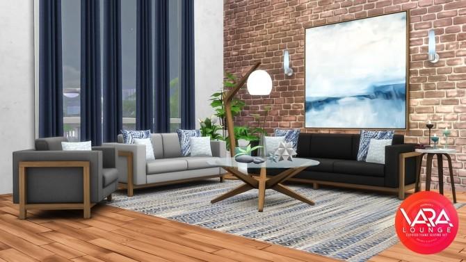 Vara Lounge Exposed Frame Seating at Simsational Designs image 816 670x377 Sims 4 Updates