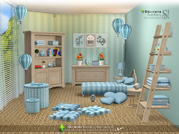 Delicata toddlers room by SIMcredible at TSR image 8218 Sims 4 Updates
