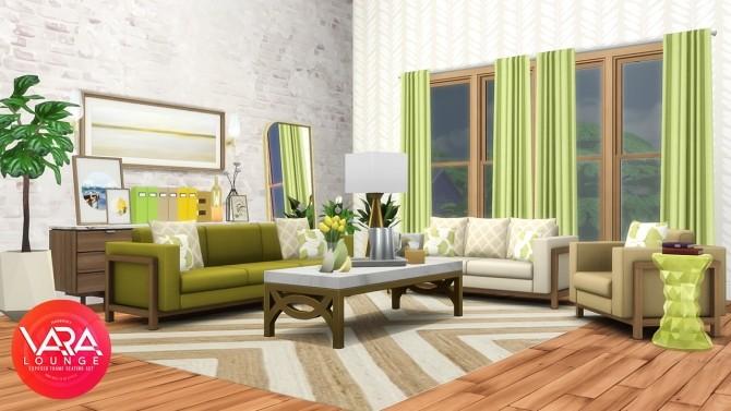 Vara Lounge Exposed Frame Seating at Simsational Designs image 823 670x377 Sims 4 Updates