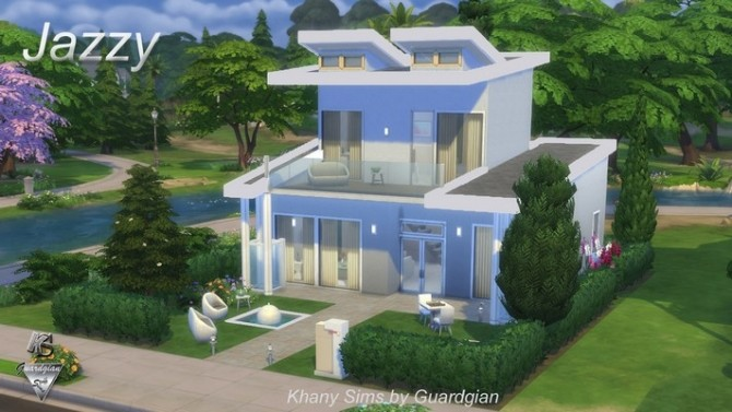 JAZZY house NOCC by Guardgian at Khany Sims image 824 670x377 Sims 4 Updates
