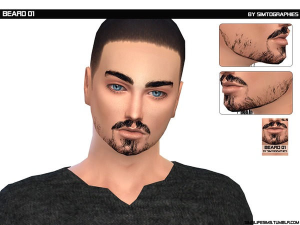 Beard 01 by simtographies at TSR image 826 Sims 4 Updates