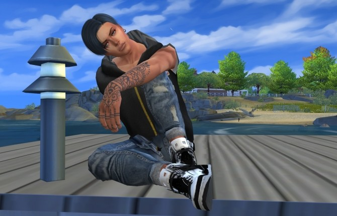 Sims 4 Chris by gor2104va at Sims for you