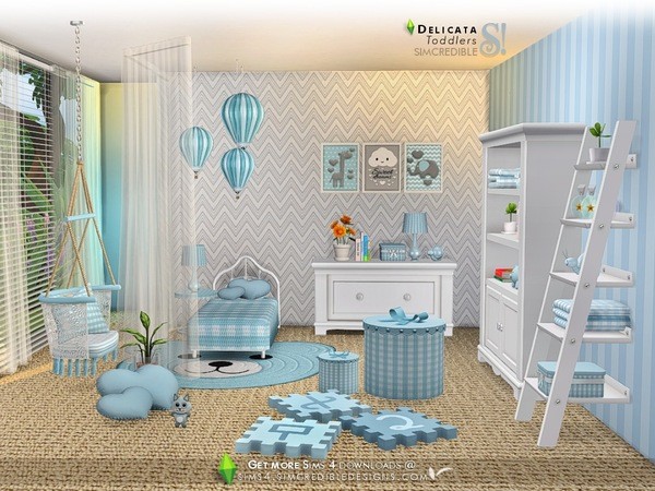 Delicata toddlers room by SIMcredible at TSR image 8318 Sims 4 Updates