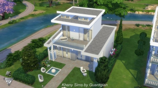 JAZZY house NOCC by Guardgian at Khany Sims image 834 670x377 Sims 4 Updates