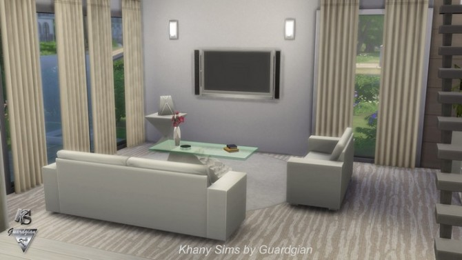 JAZZY house NOCC by Guardgian at Khany Sims image 844 670x377 Sims 4 Updates