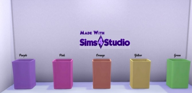 Waste Not Waste basket 18 Colours by wendy35pearly at Mod The Sims image 848 670x323 Sims 4 Updates