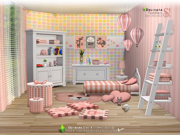 Delicata toddlers room by SIMcredible at TSR image 85161 Sims 4 Updates
