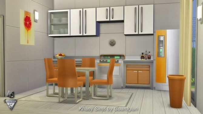JAZZY house NOCC by Guardgian at Khany Sims image 854 670x377 Sims 4 Updates