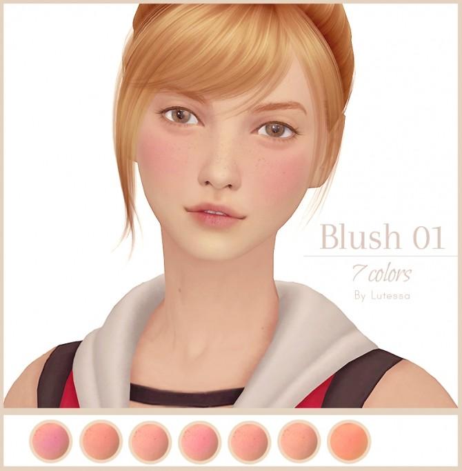 Sims 4 Blush o1 at Lutessa