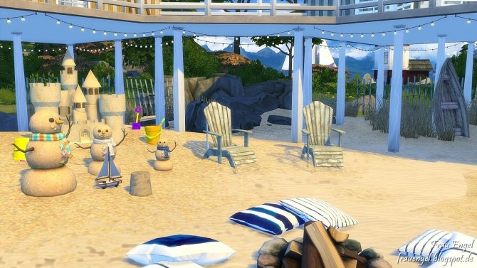 Sea Rapture beach home at Frau Engel image 8710 670x377 Sims 4 Updates