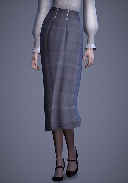 Scholar Vest & Skirt at Magnolian Farewell image 8911 Sims 4 Updates