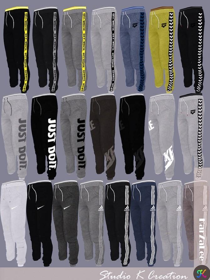 Giruto 56 Jogger Sport Long Pant at Studio K Creation image 8912 670x893 Sims 4 Updates