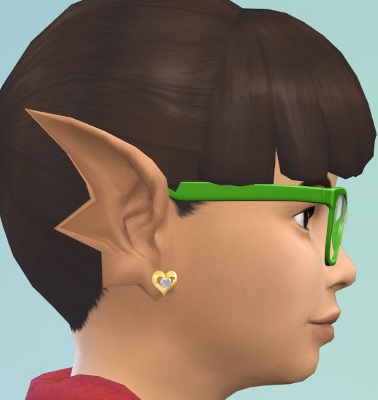 Mermaid ears Swept CAS preset by CmarNYC at Mod The Sims image 898 Sims 4 Updates