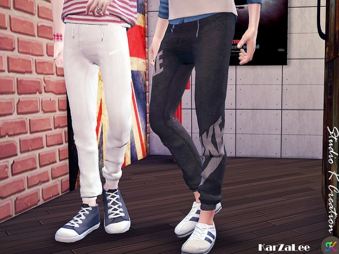 Sims 4 Giruto 56 Jogger Sport Long Pant at Studio K Creation