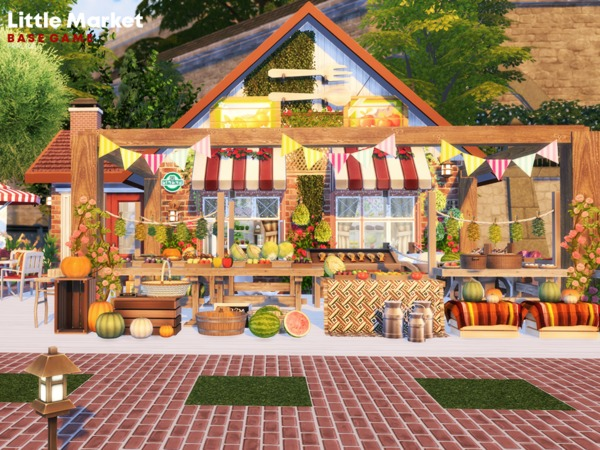 Little Market by Pralinesims at TSR image 910 Sims 4 Updates