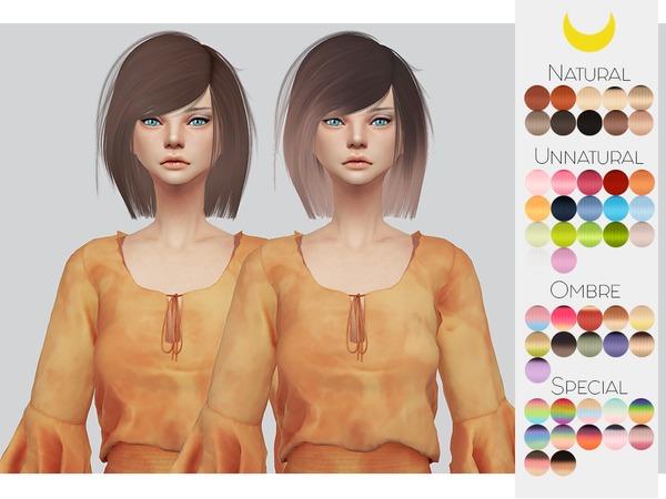 Hair Retexture 71 LeahLilliths Katuma by Kalewa a at TSR image 9100 Sims 4 Updates