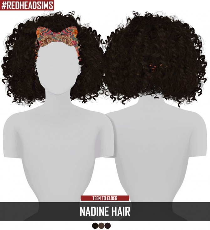 NADINE HAIR at REDHEADSIMS – Coupure Electrique image 9112 670x736 Sims 4 Updates
