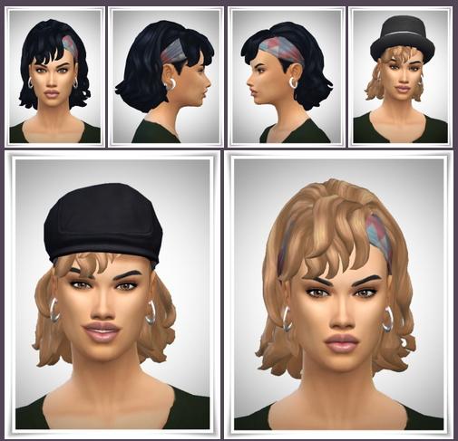 Sims 4 Tennis Hair Female at Birksches Sims Blog