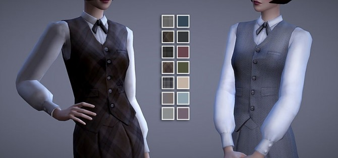 Scholar Vest & Skirt at Magnolian Farewell image 9213 670x314 Sims 4 Updates