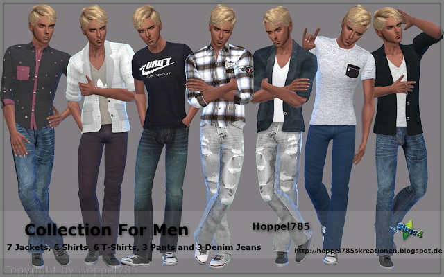 Collection For Men at Hoppel785 image 9216 Sims 4 Updates