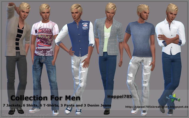 Collection For Men at Hoppel785 image 9314 Sims 4 Updates