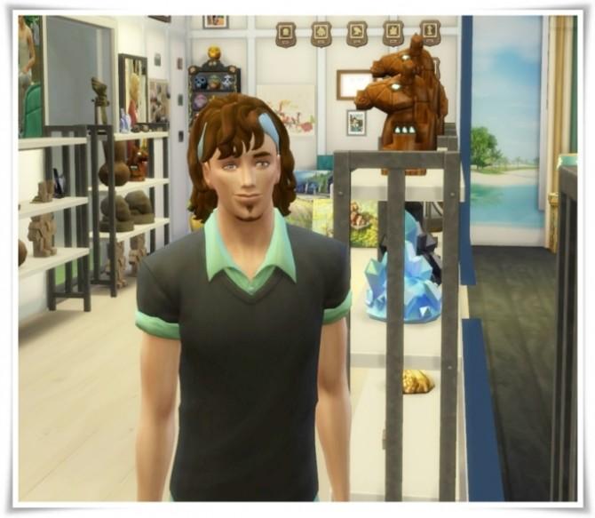 Sims 4 Tennis Hair Male at Birksches Sims Blog