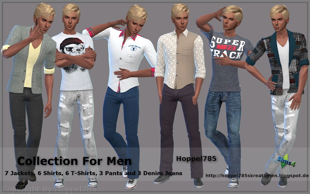Collection For Men at Hoppel785 image 9413 Sims 4 Updates