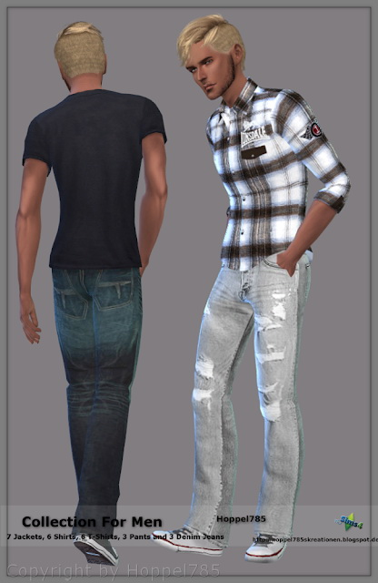 Sims 4 Collection For Men at Hoppel785