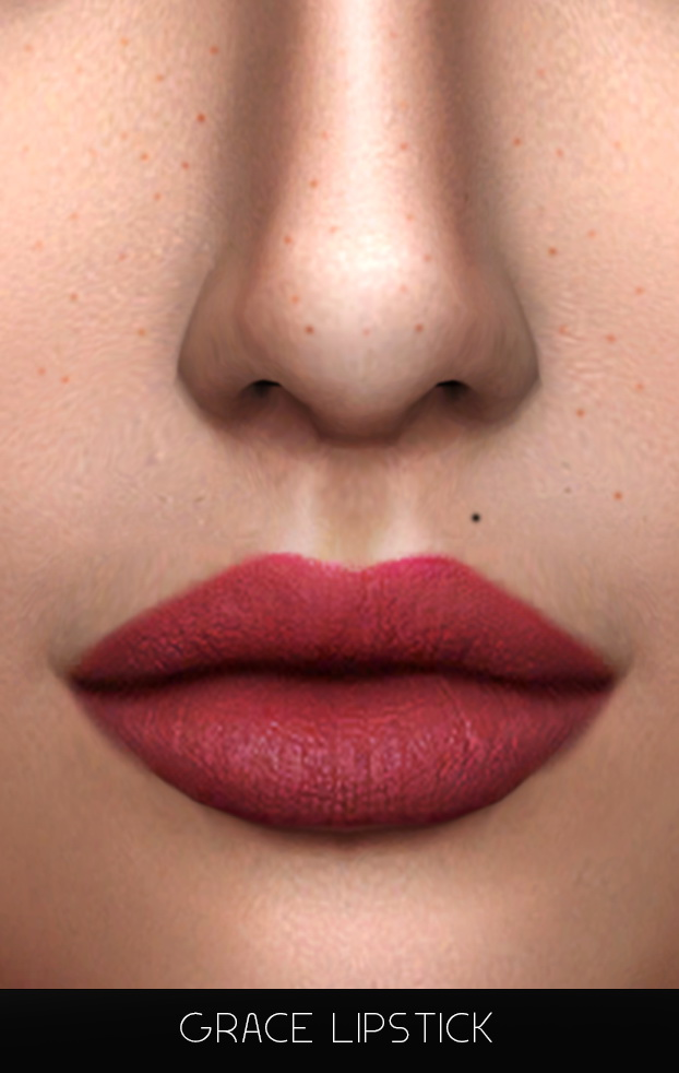 Sims 4 GRACE LIPSTICK at FROST SIMS 4