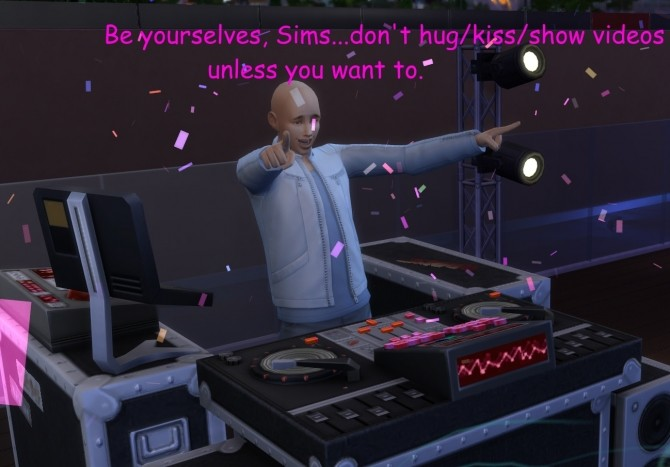 Sims 4 Sims Pre greeting kiss/hug/video test nuker/circumventor by  Ravynwolvf at Mod The Sims