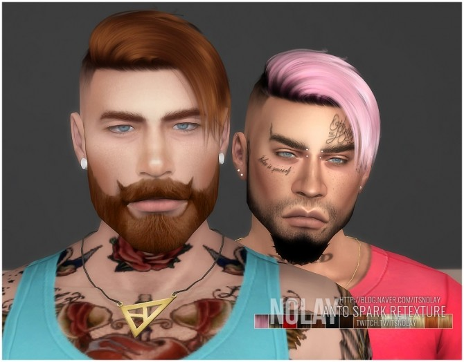 ANTO Spark Hair Retexture by Nolay at Mod The Sims image 989 670x524 Sims 4 Updates