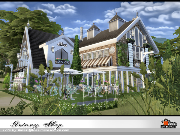 Grinny Shop by autaki at TSR image 990 Sims 4 Updates