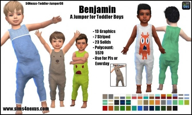 Benjamin jumper by SamanthaGump at Sims 4 Nexus image 991 670x402 Sims 4 Updates