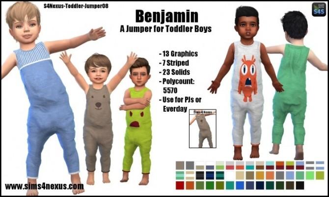 Benjamin jumper by SamanthaGump at Sims 4 Nexus image 991 670x402 Sims 4 Updates