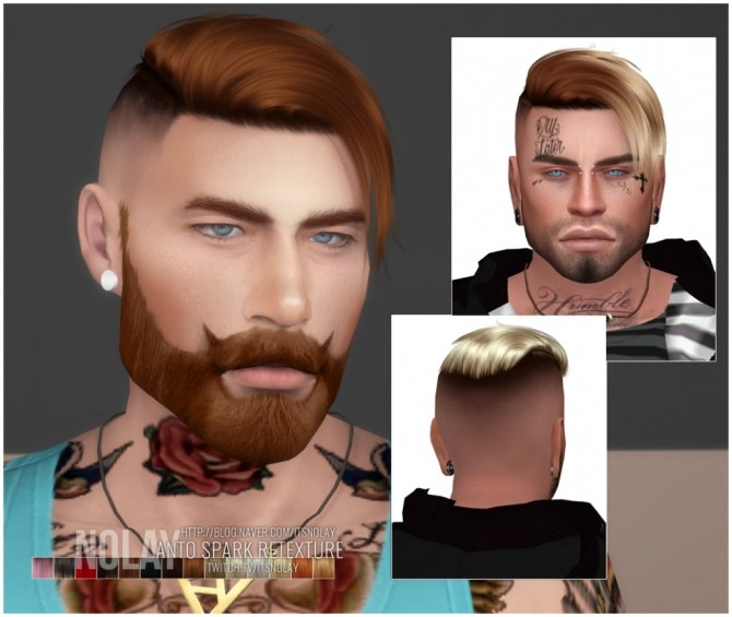 ANTO Spark Hair Retexture by Nolay at Mod The Sims image 999 670x565 Sims 4 Updates