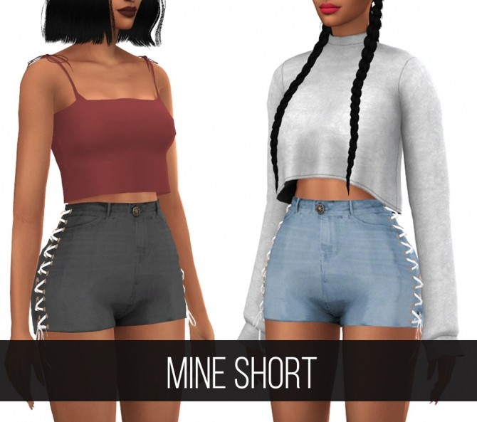 Sims 4 MINE SHORT at FifthsCreations